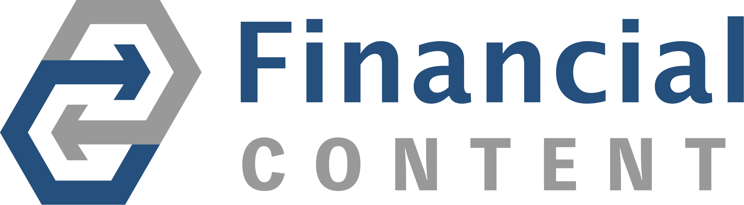financial content logo